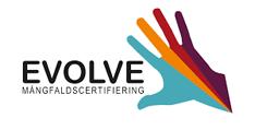 Evolve mångfaldscertifiering